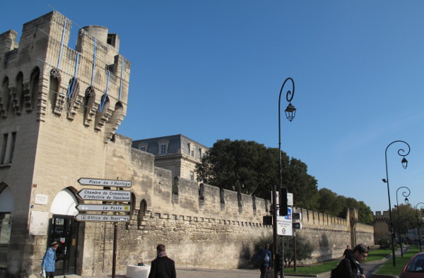 The city ramparts