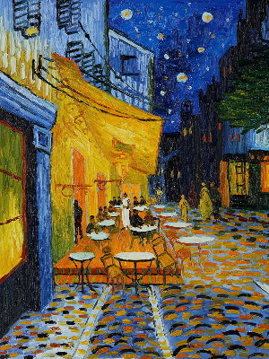 Cafe Terrace at Night, Van Gogh